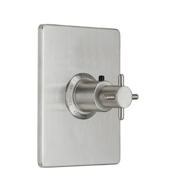 "California Faucets TO-THCN-73-SN Jalama Styletherm 3/4"" Thermostatic Trim With Finish: Satin Nickel <strong>(USUALLY SHIPS IN 1-5 BUSINESS DAYS)</strong>"