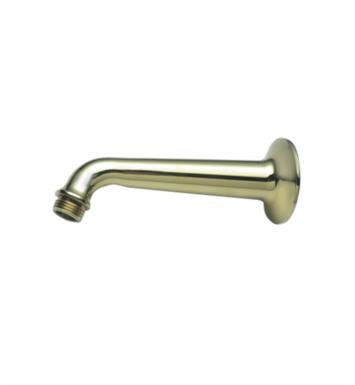 "California Faucets SH-01.6-BLK 6"" Shower Arm & Flange With Finish: Black <strong>(USUALLY SHIPS IN 1-3 WEEKS)</strong>"
