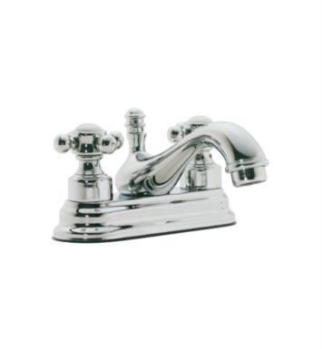 "California Faucets T6001-SS Multi-Series 6"" Double Handle Centerset Bathroom Sink Faucet With Finish: Stainless Steel <strong>(USUALLY SHIPS IN 2-4 WEEKS)</strong>"
