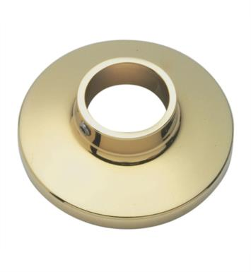 "California Faucets 9100-PVD 2 1/4"" Shower Arm Flange With Finish: Polished Brass <strong>(USUALLY SHIPS IN 1-3 WEEKS)</strong>"