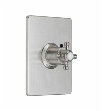 "California Faucets TO-THCN-47-PBU Venice Styletherm 3/4"" Thermostatic Trim With Finish: Polished Brass Uncoated <strong>(USUALLY SHIPS IN 3-9 BUSINESS DAYS)</strong>"