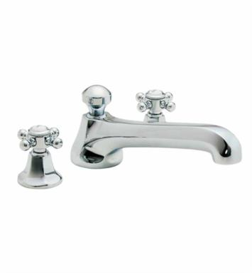 "California Faucets TO-4708-PN Venice 10 5/8"" Two Handle Widespread/Deck Mounted Roman Tub Trim Faucet Set With Finish: Polished Nickel <strong>(USUALLY SHIPS IN 5-12 BUSINESS DAYS)</strong>"