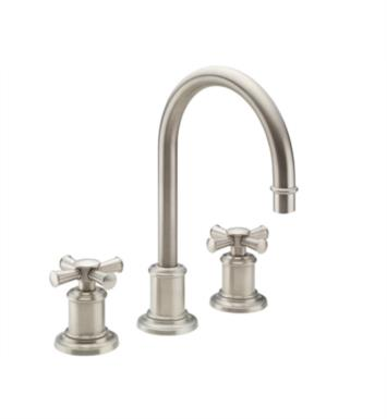 "California Faucets 4802X-BIS Miramar 7 5/8"" Double Handle Widespread Bathroom Sink Faucet With Finish: Biscuit <strong>(USUALLY SHIPS IN 1-3 WEEKS)</strong>"
