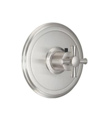 "California Faucets TO-THN-48X-LPG Miramar 7 1/4"" StyleTherm Thermostatic Round Valve Trim With Finish: Lifetime Polished Gold <strong>(USUALLY SHIPS IN 2-4 WEEKS)</strong>"