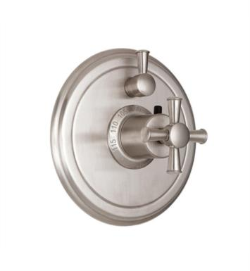 "California Faucets TO-TH1L-48X-BIS Miramar 7 1/4"" Styletherm Trim with Single Volume Control With Finish: Biscuit <strong>(USUALLY SHIPS IN 1-3 WEEKS)</strong>"