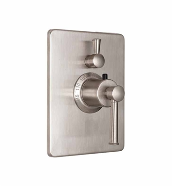 California Faucets TO-THC1L-48-LPG Miramar Styletherm Trim with Single Volume Control With Finish: Lifetime Polished Gold <strong>(USUALLY SHIPS IN 2-4 WEEKS)</strong>