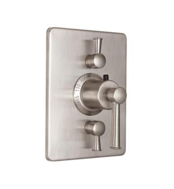 "California Faucets TO-THC2L-48-MOB Miramar 5 7/8"" StyleTherm Trim with Dual Volume Control With Finish: Mocha Bronze <strong>(USUALLY SHIPS IN 2-4 WEEKS)</strong>"