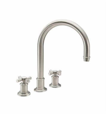 "California Faucets TO-4808X-ORB Miramar 10 3/4"" Two Handle Widespread/Deck Mounted Roman Tub Trim Faucet Set With Finish: Oil Rubbed Bronze <strong>(USUALLY SHIPS IN 3-9 BUSINESS DAYS)</strong>"