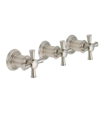 "California Faucets TO-4803XL Miramar 8"" - 16"" Three Handle Tub and Shower Trim"
