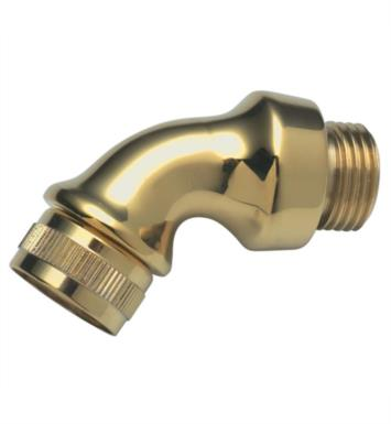 California Faucets 9145-B-PVD Deck Elbow for Handshower With Finish: Polished Brass <strong>(USUALLY SHIPS IN 1-3 WEEKS)</strong>
