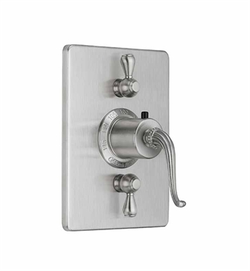 California Faucets TO-THC2L-50-PC Solana Styletherm Trim with Dual Volume Control With Finish: Polished Chrome <strong>(USUALLY SHIPS IN 1-5 BUSINESS DAYS)</strong>