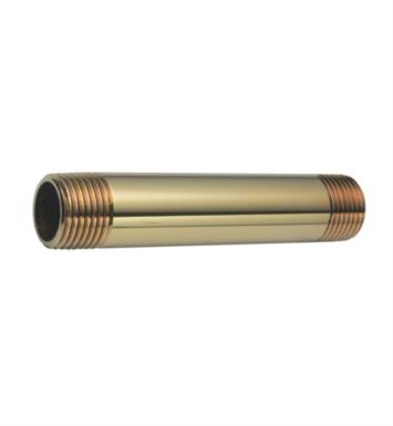 "California Faucets 9022 4"" Brass Nipple"
