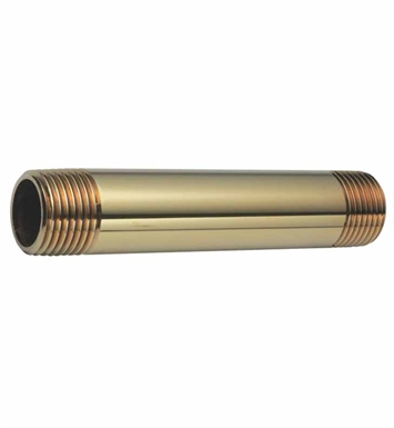 California Faucets 9022-BTB Brass Nipple With Finish: Bella Terra Bronze <strong>(USUALLY SHIPS IN 5-12 BUSINESS DAYS)</strong>