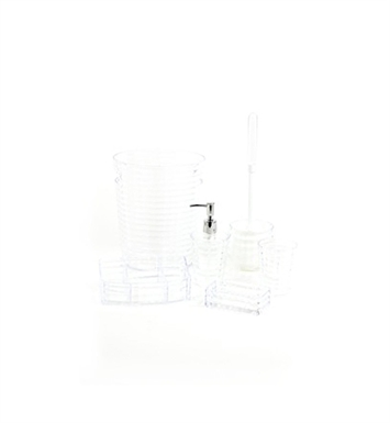 Nameeks GL6081-00 Gedy Bathroom Accessory Set