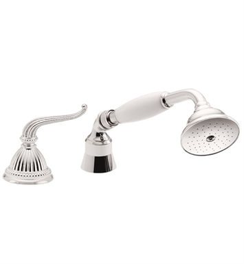 California Faucets TO-50.13 Solana Traditional Handshower & Diverter Trim for Roman Tub