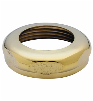 California Faucets 9097-WB Slip Joint Nut With Finish: Weathered Brass <strong>(USUALLY SHIPS IN 5-12 BUSINESS DAYS)</strong>