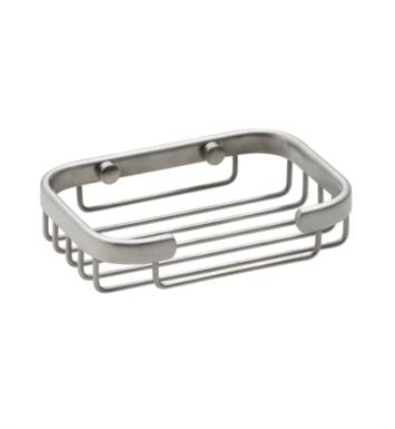 "California Faucets 9450-SN 5 3/8"" Rectangular Shower Basket With Finish: Satin Nickel <strong>(USUALLY SHIPS IN 1-5 BUSINESS DAYS)</strong>"