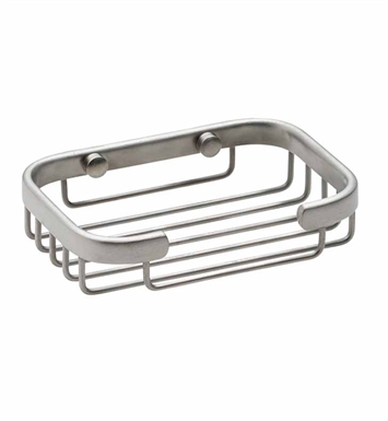 California Faucets 9450-SN Rectangular Shower Basket With Finish: Satin Nickel <strong>(USUALLY SHIPS IN 1-5 BUSINESS DAYS)</strong>