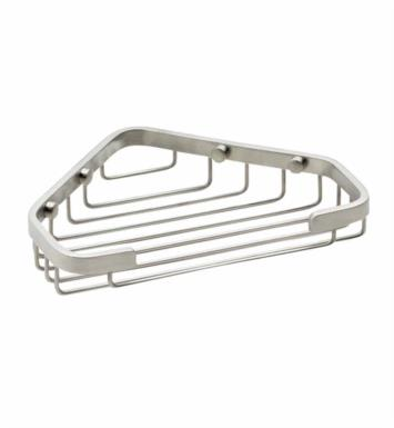 "California Faucets 9455 7 7/8"" Corner Shower Basket"