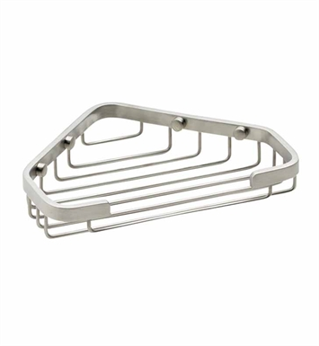 California Faucets 9455-BIS Corner Shower Basket With Finish: Biscuit <strong>(USUALLY SHIPS IN 1-3 WEEKS)</strong>