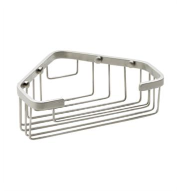 "California Faucets 9456-EB 7 7/8"" Corner Shower Basket With Finish: English Brass <strong>(USUALLY SHIPS IN 4-6 WEEKS)</strong>"