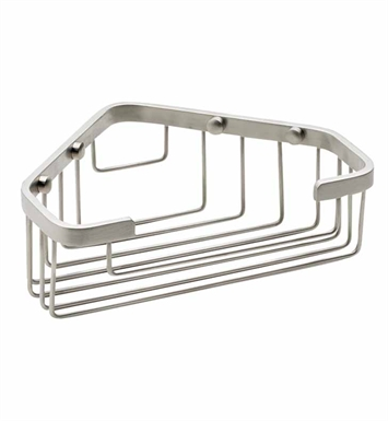 California Faucets 9456-SC Corner Shower Basket With Finish: Satin Chrome <strong>(USUALLY SHIPS IN 1-3 WEEKS)</strong>
