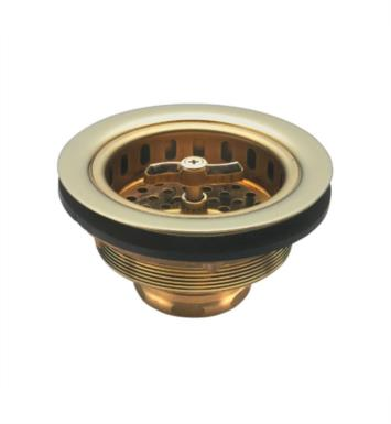 "California Faucets 9650-PRB 4 1/2"" Heavy Duty Wing Nut Basket Strainer for 3 1/2"" Openings With Finish: Polished Rose Bronze <strong>(USUALLY SHIPS IN 3-5 WEEKS)</strong>"