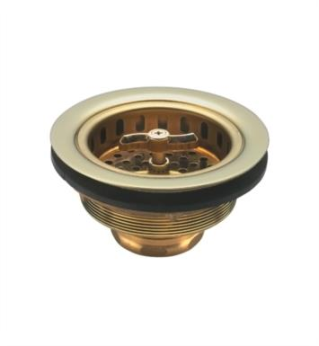 "California Faucets 9650-B-EB 4 1/2"" Replacement Basket For 9650 Strainer With Finish: English Brass <strong>(USUALLY SHIPS IN 4-6 WEEKS)</strong>"