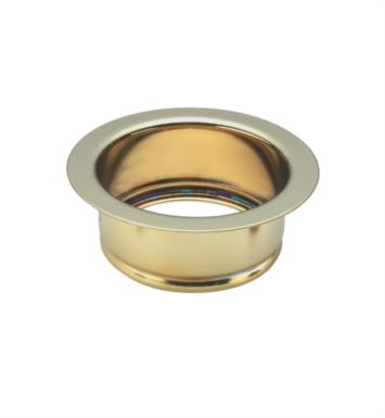 "California Faucets 9656-B-PN 4 1/2"" Garbage Disposer Flange for 9654 & 9655 Strainer With Finish: Polished Nickel <strong>(USUALLY SHIPS IN 5-12 BUSINESS DAYS)</strong>"