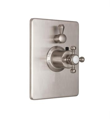 "California Faucets TO-THC1L-60-WCO Multi-Series 5 7/8"" StyleTherm Trim Only with Single Volume Control With Finish: Weathered Copper <strong>(USUALLY SHIPS IN 2-4 WEEKS)</strong>"