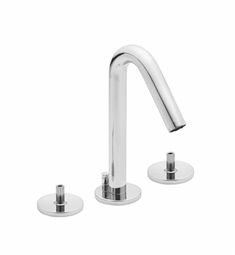 California Faucets Builders 22 Series 2202-LH Contemporary Widespread Faucet without Handles