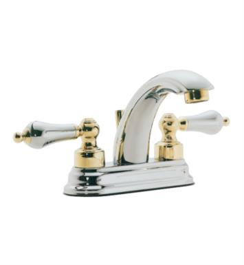 "California Faucets 5501-PC Coronado 5 7/8"" Double Handle Centerset/Deck Mounted J-Spout Bathroom Sink Faucet With Finish: Polished Chrome <strong>(USUALLY SHIPS IN 1-5 BUSINESS DAYS)</strong>"