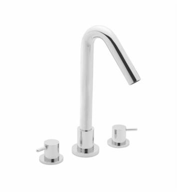 "California Faucets 2208-CY-SN Builders 22 Series 4 7/8"" Widespread/Deck Mounted Roman Tub Faucet with Metal Cylinder Handles With Finish: Satin Nickel <strong>(USUALLY SHIPS IN 1-5 BUSINESS DAYS)</strong>"