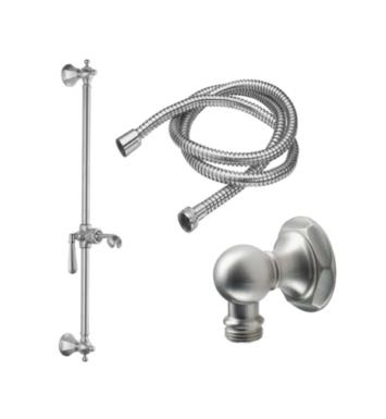 California Faucets 9129-46-SRB Monterey Wall Mount Hex Base Slide Bar Handshower Kit With Finish: Satin Rose Bronze <strong>(USUALLY SHIPS IN 6-8 WEEKS)</strong>