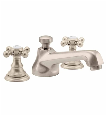 California Faucets 6002-WHT Del Mar Widespread Lavatory Faucet With Finish: White <strong>(USUALLY SHIPS IN 1-3 WEEKS)</strong>