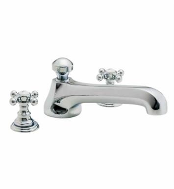 "California Faucets TO-6008-SBZ Del Mar 10 1/2"" Two Handle Widespread/Deck Mounted Roman Tub Trim Faucet Set With Finish: Satin Bronze <strong>(USUALLY SHIPS IN 6-8 WEEKS)</strong>"