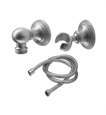 "California Faucets 9125-38-CB La Jolla 2 1/8"" Rope Wall Mounted Handshower Kit With Finish: Carbon <strong>(USUALLY SHIPS IN 3-5 WEEKS)</strong>"