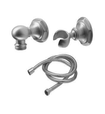 "California Faucets 9125-47-RBZ Venice 2 1/8"" Hex Wall Mounted Handshower Kit With Finish: Rustico Bronze <strong>(USUALLY SHIPS IN 1-2 WEEKS)</strong>"