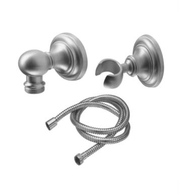 "California Faucets 9125-48-SB Miramar 2 3/8"" Concave Wall Mounted Handshower Kit With Finish: Satin Brass <strong>(USUALLY SHIPS IN 4-6 WEEKS)</strong>"