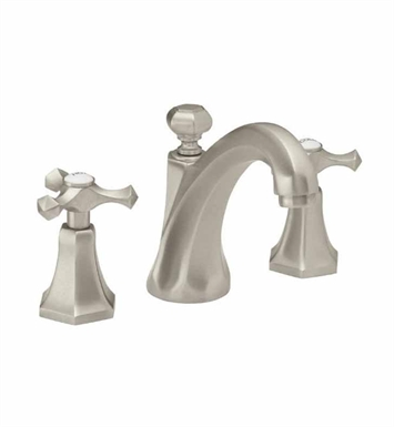 California Faucets 6302-AB Catalina Widespread Lavatory Faucet With Finish: Antique Brass <strong>(USUALLY SHIPS IN 5-12 BUSINESS DAYS)</strong>