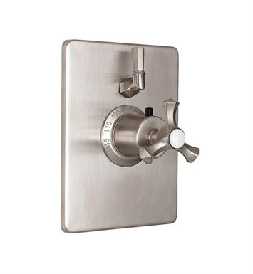 California Faucets TO-THC1L-63-PN Catalina Styletherm Trim with Single Volume Control With Finish: Polished Nickel <strong>(USUALLY SHIPS IN 5-12 BUSINESS DAYS)</strong>