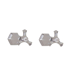 California Faucets San Clemenete TO-6806L Two Handle Tub and Shower Trim