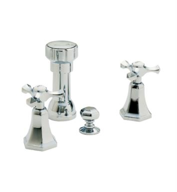 "California Faucets 6304 Catalina 5 3/8"" Widespread/Deck Mounted Bidet Faucet Set"