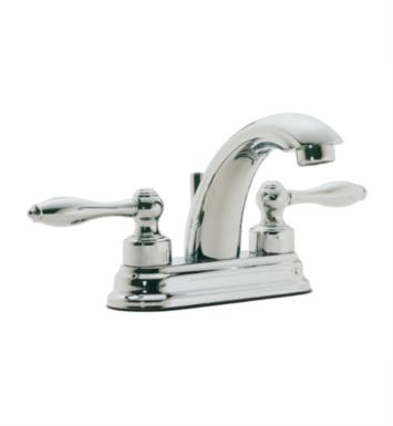 "California Faucets 6401-LSG Mendocino 5 7/8"" Double Handle Centerset/Deck Mounted J-Spout Bathroom Sink Faucet With Finish: Lifetime Satin Gold <strong>(USUALLY SHIPS IN 3-5 WEEKS)</strong>"