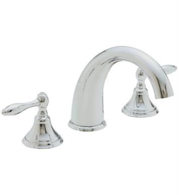 "California Faucets TO-6408-SB Mendocino 10 3/4"" Two Handle Widespread/Deck Mounted Roman Tub Trim Faucet Set With Finish: Satin Brass <strong>(USUALLY SHIPS IN 4-6 WEEKS)</strong>"