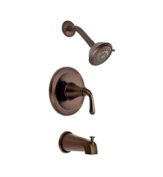 Danze Bannockburn™ Trim Only Single Lever Handle Tub & Shower Faucet in Antique Brass