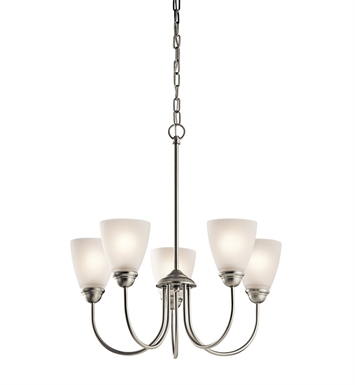 Kichler 43638OZ Chandelier 5 Light With Finish: Olde Bronze