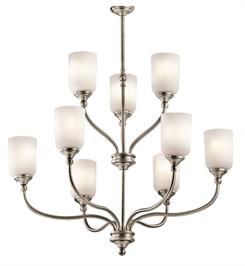 Kichler 43652OZ Chandelier 9 Light With Finish: Olde Bronze