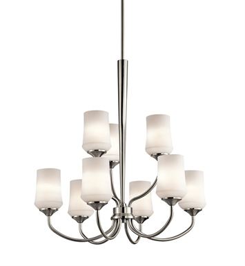 Kichler 43666OZ Chandelier 9 Light With Finish: Olde Bronze