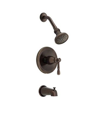 Danze D500015BRT Eastham™ Trim Only Single Handle Tub & Shower Faucet in Tumbled Bronze